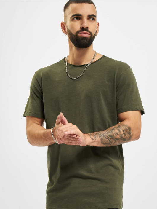 Jack & Jones T-Shirt Jjebasher O-Neck grün