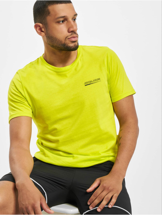 Jack & Jones T-Shirt jcoClean jaune