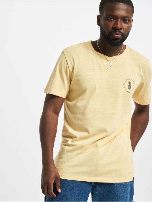 Jack & Jones T-Shirt Jorpoolside jaune