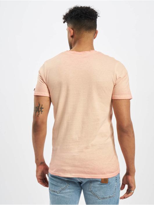 Jack & Jones T-Shirt jorAbre magenta