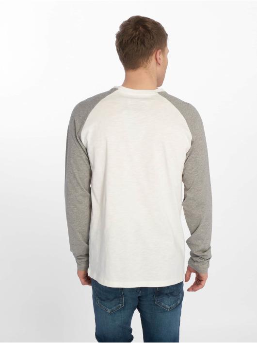Jack & Jones T-Shirt manches longues jorSmack blanc