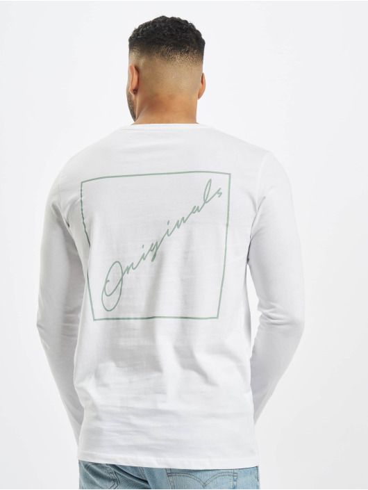 Jack & Jones T-Shirt manches longues orNorth blanc