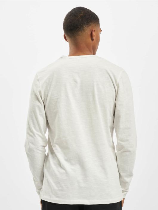 Jack & Jones T-Shirt manches longues jjeSplit Neck Noos blanc