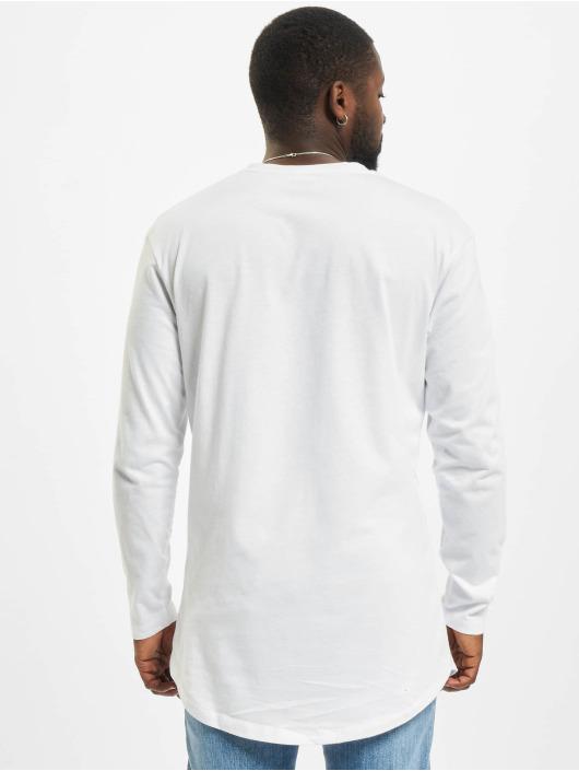 Jack & Jones T-Shirt manches longues Jjenoa O-Neck blanc