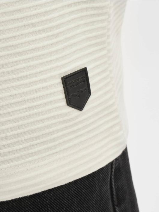 Jack & Jones T-Shirt manches longues Jjephil blanc