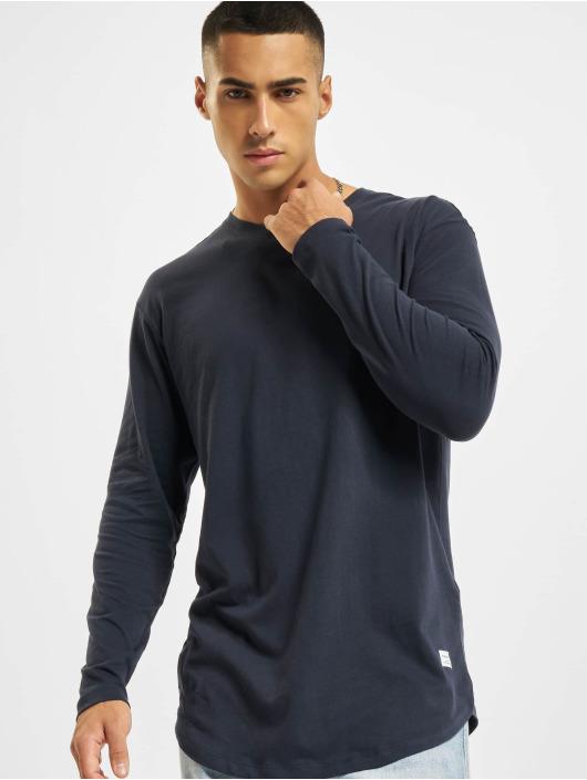 Jack & Jones T-Shirt manches longues Jjenoa O-Neck bleu