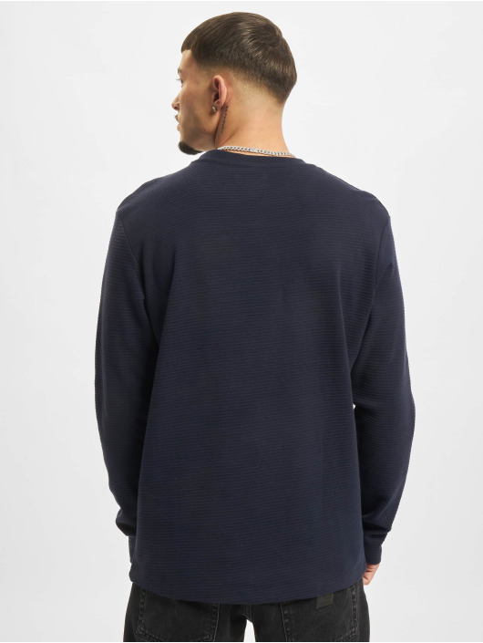 Jack & Jones T-Shirt manches longues Jjephil bleu