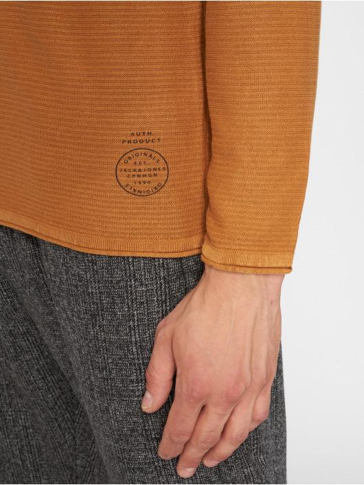 Manches Jorlaundry Brun 491906 T Longues Homme shirt Jackamp; Jones kTiuOXZP
