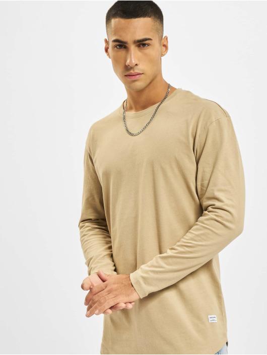 Jack & Jones T-Shirt manches longues Jjenoa O-Neck brun