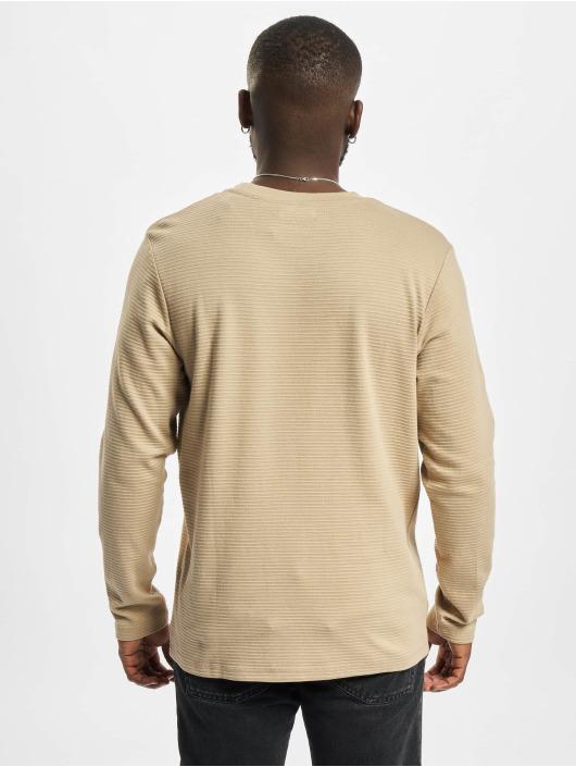 Jack & Jones T-Shirt manches longues Jjephil brun