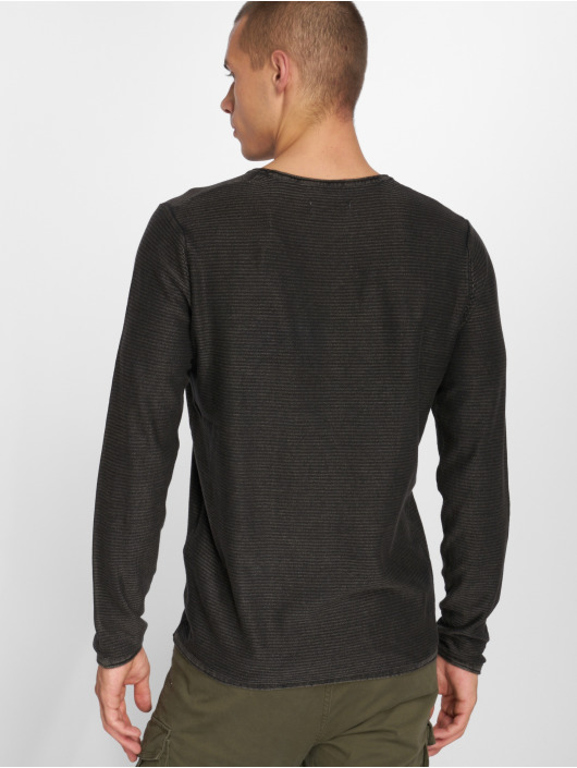 Jorlaundry Manches shirt 491908 Jackamp; Knit Gris Longues Jones Homme T Y76Ibvfgy