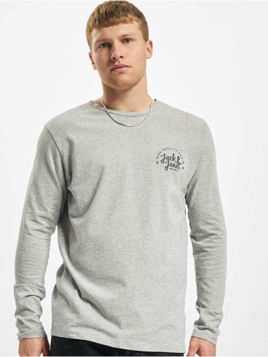 Jack & Jones T-Shirt manches longues Jjkimbel gris