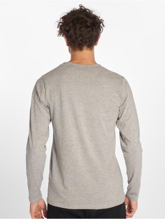 Jack & Jones T-Shirt manches longues Basic gris