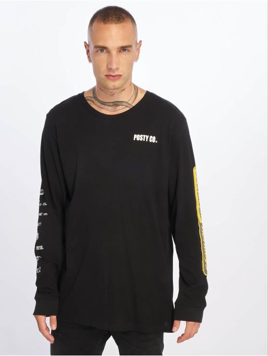 Jack & Jones T-Shirt manches longues jcoPostmalone noir