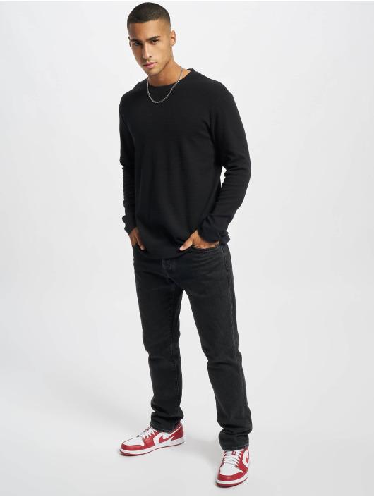 Jack & Jones T-Shirt manches longues Jjephil noir