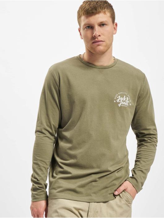 Jack & Jones T-Shirt manches longues Jjkimbel olive