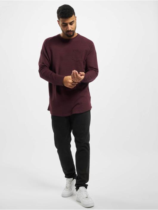 Jack & Jones T-Shirt manches longues jcoOzil rouge