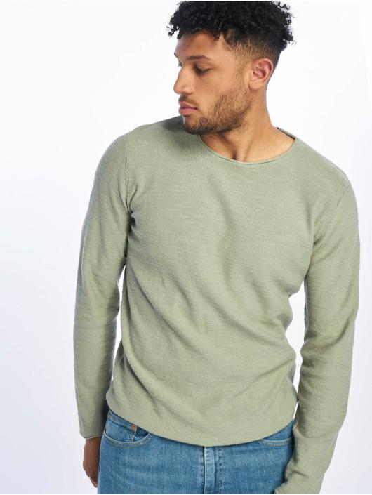 Jack & Jones T-Shirt manches longues jjeSlub vert