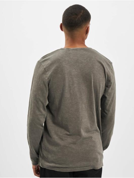 Jack & Jones T-Shirt manches longues jjeSplit Neck Noos vert