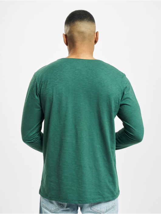 Jack & Jones T-Shirt manches longues jorAutumn Organic vert