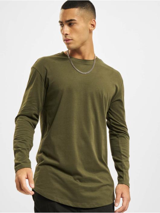 Jack & Jones T-Shirt manches longues Jjenoa O-Neck vert