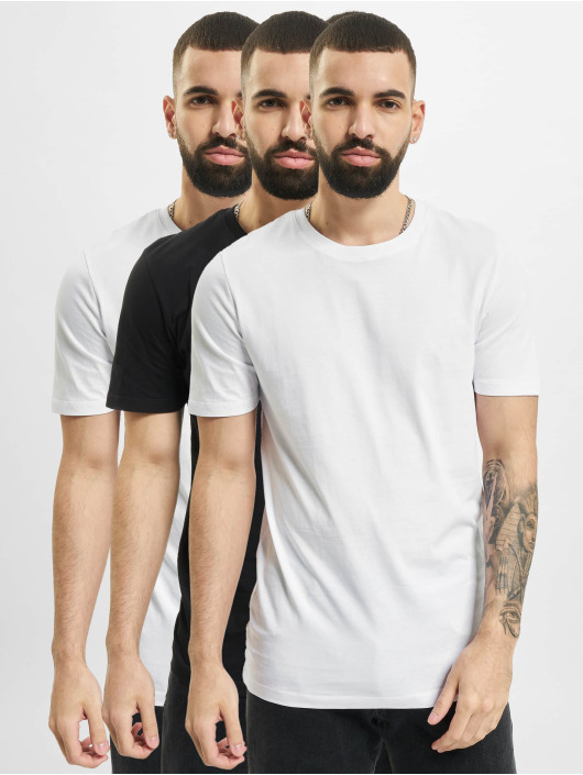 Jack & Jones T-shirt Jjeorganic Basic O-Neck 3-Pack nero