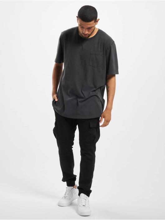 Jack & Jones T-Shirt jjeJeans Wash Camp noir
