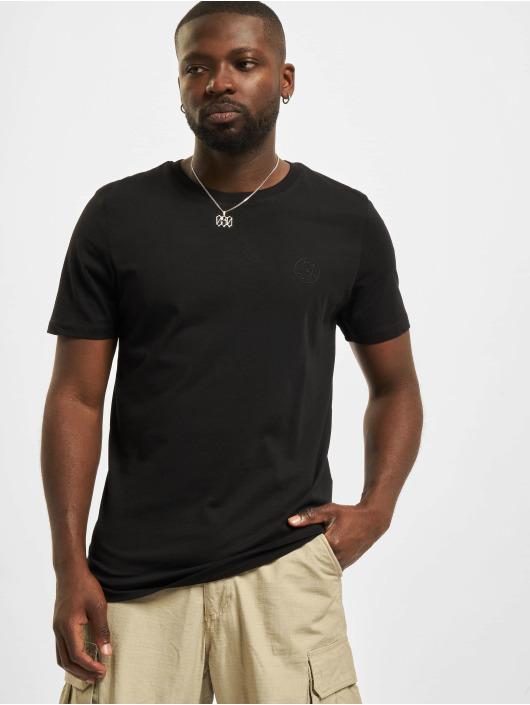 Jack & Jones T-Shirt Jjeorganic O-Neck noir