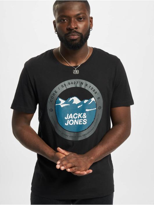 Jack & Jones T-Shirt Jcobilo Crew Neck noir
