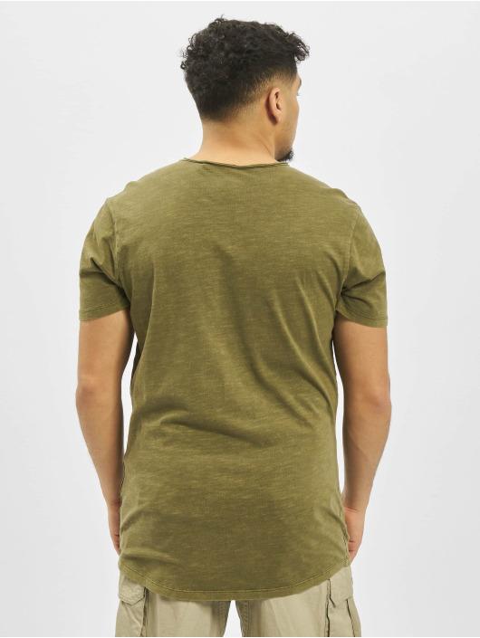Jack & Jones T-Shirt jjeAsher O-Neck Noos olive