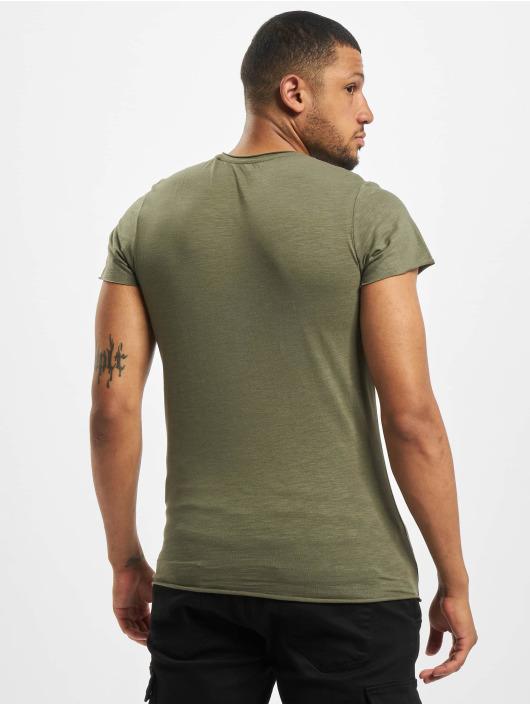 Jack & Jones T-Shirt jjeBas Noos olive