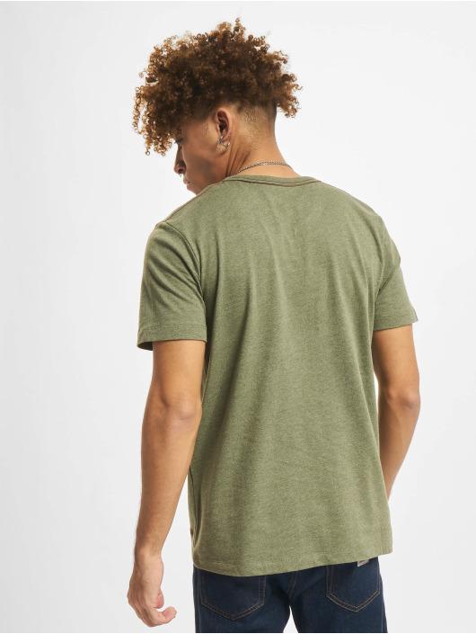 Jack & Jones T-Shirt Jprblubowery V Neck olive