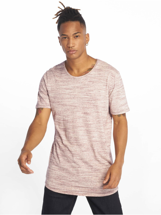 Jack & Jones T-Shirt jjeHugo Melanges pourpre