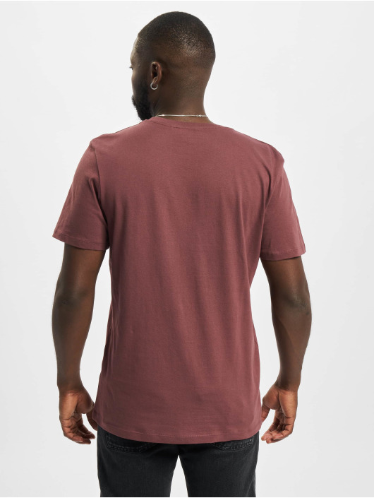 Jack & Jones T-Shirt Jcobilo Crew Neck pourpre