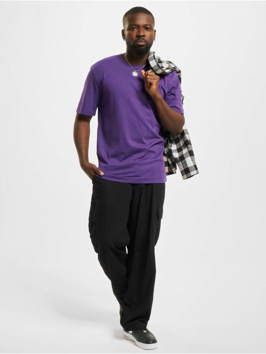 Jack & Jones T-Shirt Jjerelaxed O-Neck purple