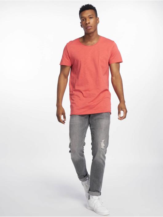 Jack & Jones T-Shirt jjeBas red