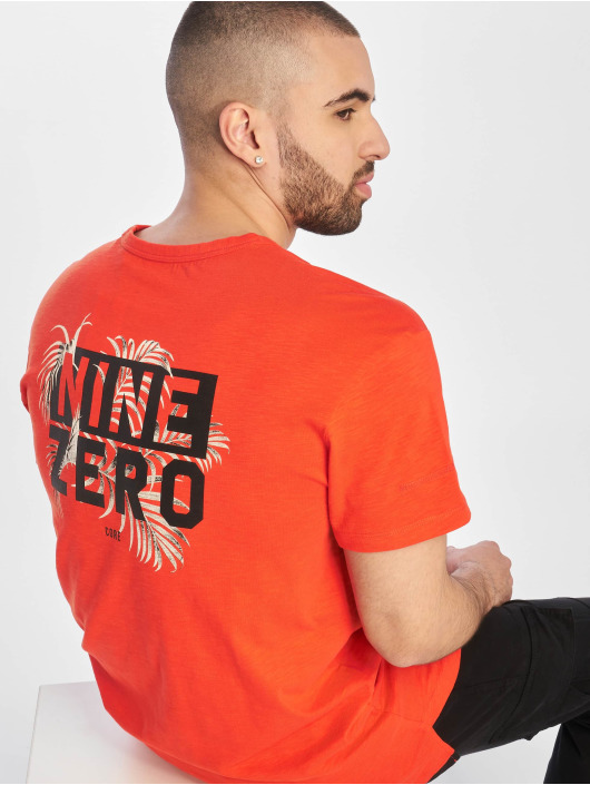 Jack & Jones T-Shirt jcoLeaf red