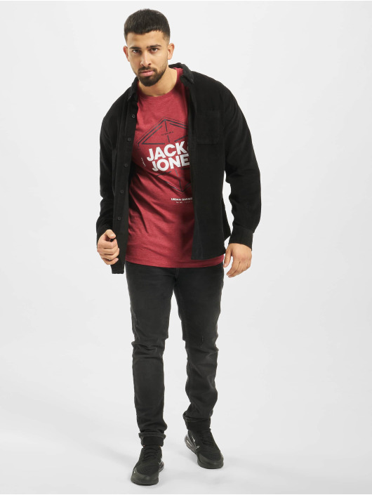 Jack & Jones T-Shirt jcoFebby red