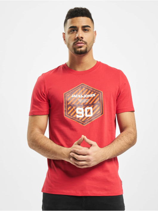 Jack & Jones T-Shirt jcoFriday-Disc red