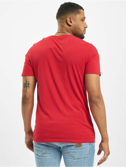 Jack & Jones T-Shirt jjeLogo Noos red