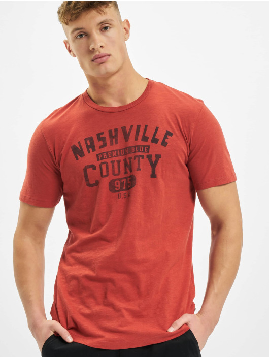 Jack & Jones T-Shirt jprBlubryan red
