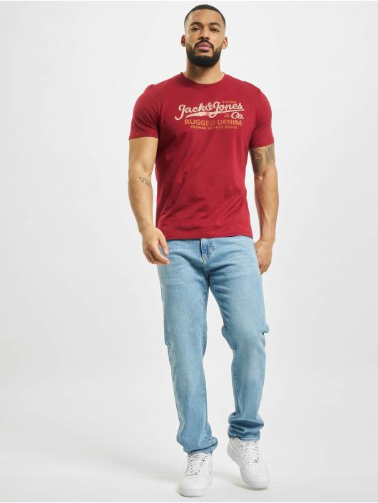 Jack & Jones t-shirt jprBlustar rood