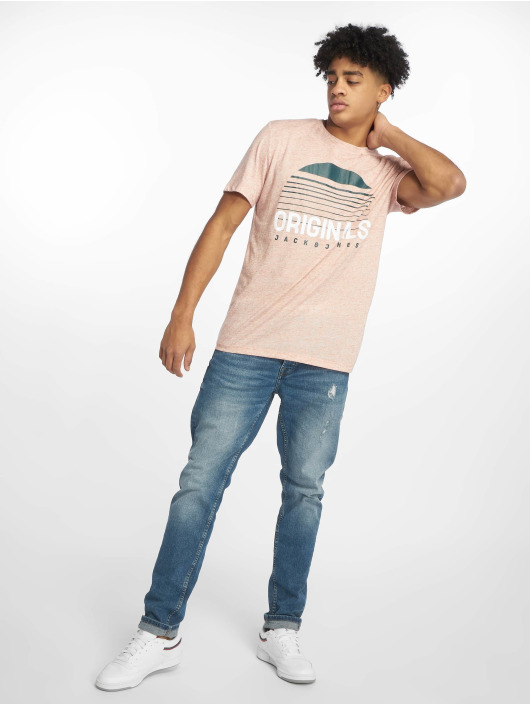 Jack & Jones T-Shirt jorRodo rosa
