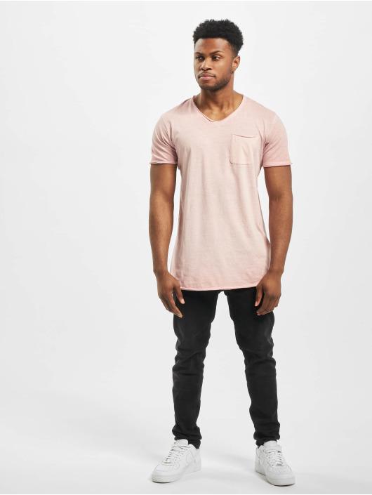 Jack & Jones T-Shirt jorKris BAS Crew Neck rosa