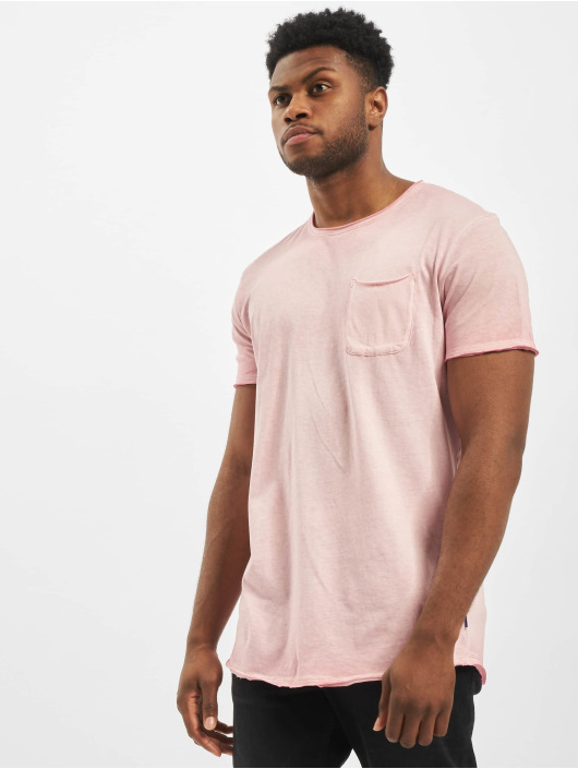 Jack & Jones T-Shirt jorKris Bas rosa