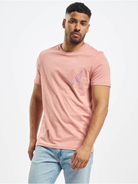 Jack & Jones T-Shirt jorSign rosa