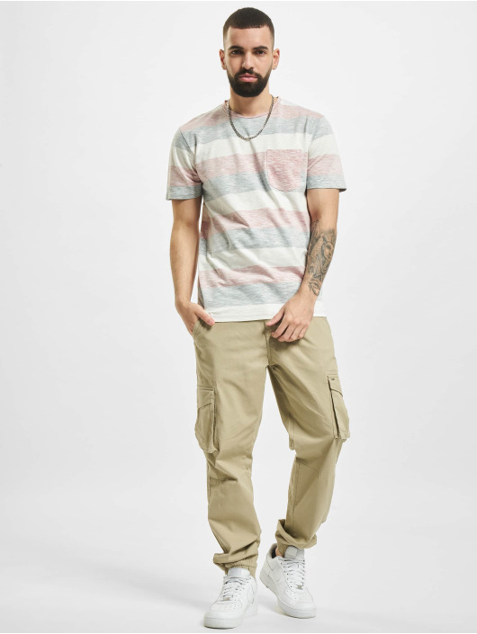 Jack & Jones T-Shirt jjStripe rose