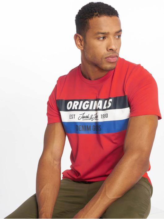 Jack & Jones T-Shirt jorShakedowns rot
