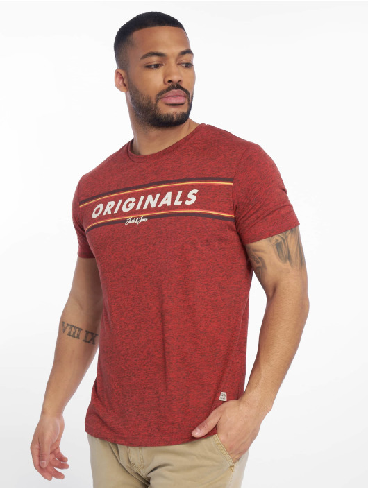 Jack & Jones T-Shirt jorTuco rot