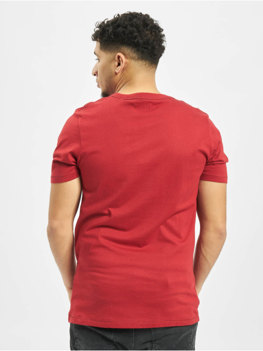 Jack & Jones T-Shirt jprLogo rot